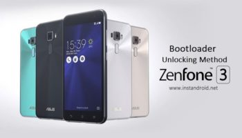 Asus Zenfone 3 ZE552KL Bootloader Unlocking Method