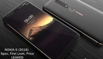 Nokia 6 (2018) First Look, Specification, Price Leaked_www.instandroid.net