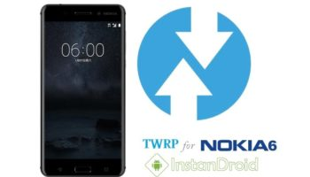 Nokia 6 Custom Recovery TWRP [TeamWin Recovery Project]-instandroid.net