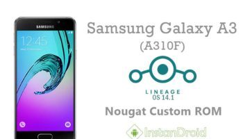 Samsung Galaxy A3 [2016] Nougat Custom ROM LineAge OS 14.1_www.instandroid.net