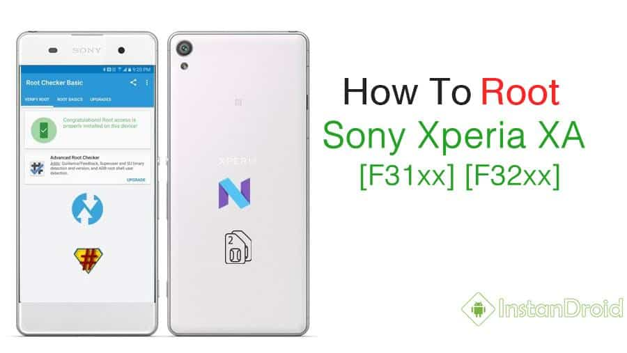 Sony Xperia XA Root Method [F31xx][F32xx]