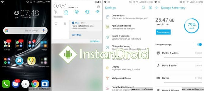 Asus Zenfone 3 Android 8 Oreo Official Stock Firmware Update (Download and Installation method)