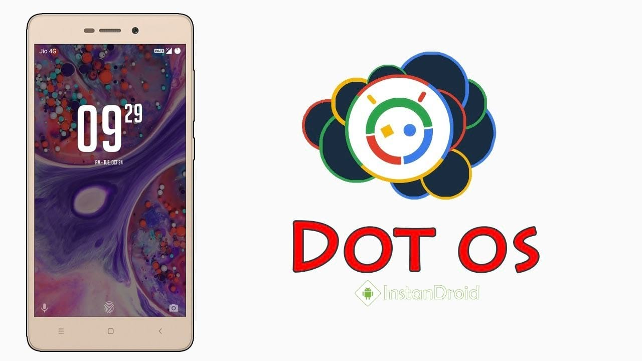 DotOS Nougat Custom Roms for Walton Primo GH6GH6+