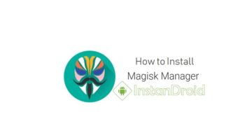 How to Install Magisk Manager-www.instandroid.net