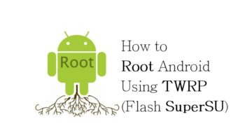 How to Root Android Using TWRP (Flash SuperSU) – www.instandroid.net