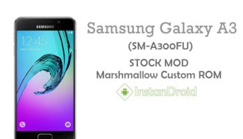 Samsung Galaxy A3 (A300FU) Marshmallow Custom Rom TouchWiz (Stock GS Mod Firmware Update)
