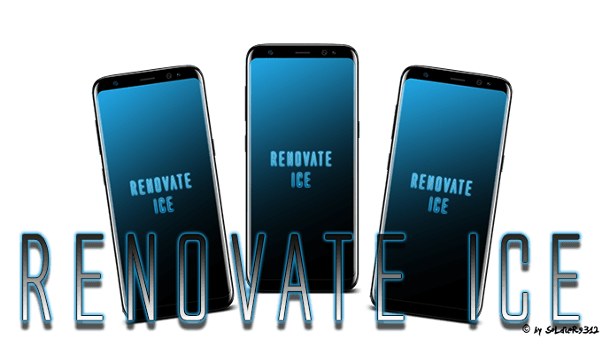 Samsung Galaxy S8 Oreo Custom Rom Renovate Ice V11.1 (SM-G95XFFDN) (Oreo 8.1) (Nightly) - www.instandroid.net