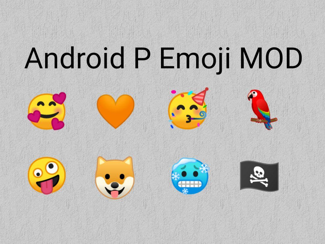 Android Pie 9 0 Redesigned Emoji Set For Older Android
