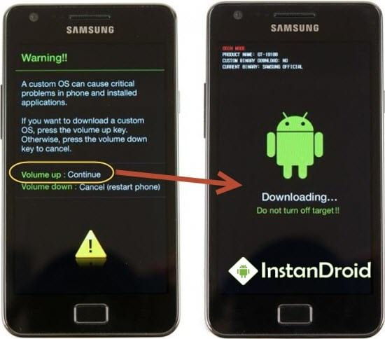 Samsung J1 Ace SM-J111F Custom Recovery TWRP - InstanDroid
